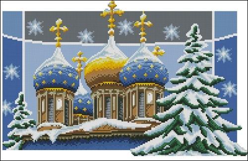 Рождественские купола