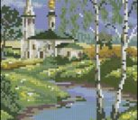 Пейзаж лето храм