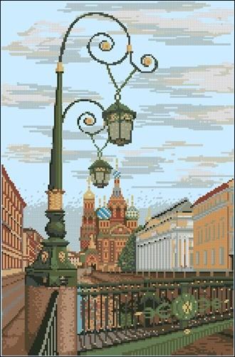 St. Petersburg. Spas na Krovi