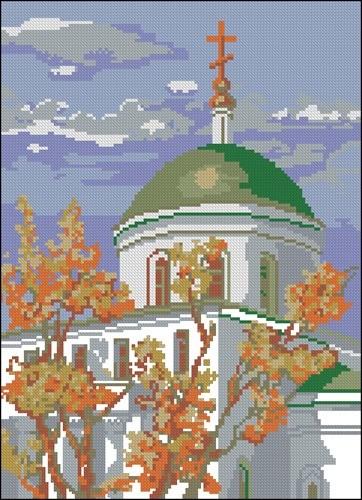 Храм в Ипатьевске
