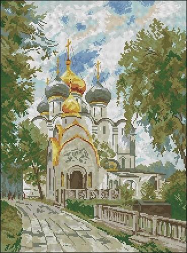 Москва Новодевичий монастырь