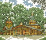 Церковь Богоявления Господня. Жаворонки