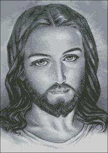 Иисус Христос (монохром)