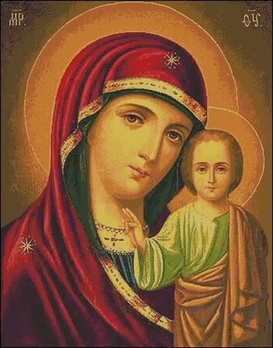Икона Казанской Богородицы