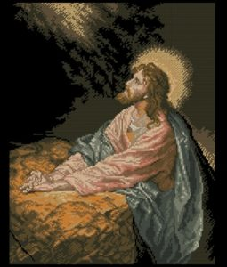 Christ in Gethsemane (Иисус Христос в Гефсиманском саду)