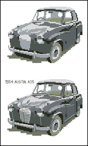 1954 Austin A35