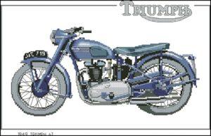 1949 Triumph 6T