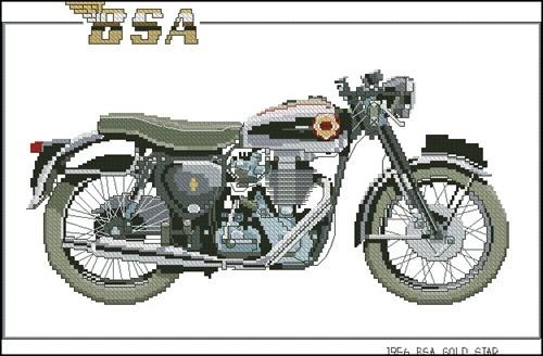 1956 BSA Gold Star