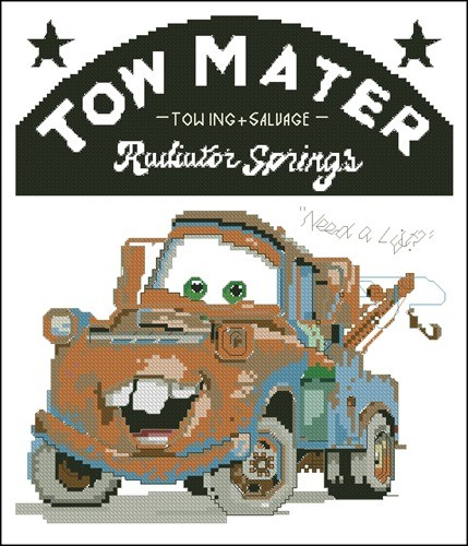 1135-34 Tow Mater