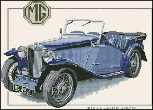 CMG115 - 1936 Magnette (backstitch)