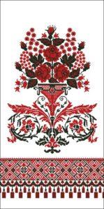 Орнамент русская старинная вышивка с деревом