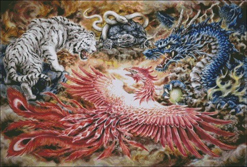 Four Heavenly Beasts-Harai