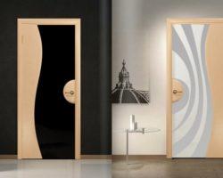 декорирование двери своими руками, фото (12)