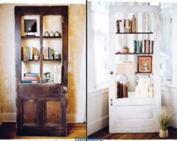декорирование двери своими руками, фото (6)