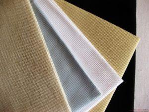 как выбрать канву для вышивки крестом