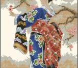 Гейша и ветка сакуры