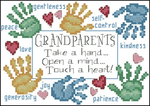 Grandparents Touch a Heart