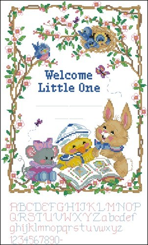 Welcome Little One Birth Record