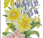 Весенне желтые цветы