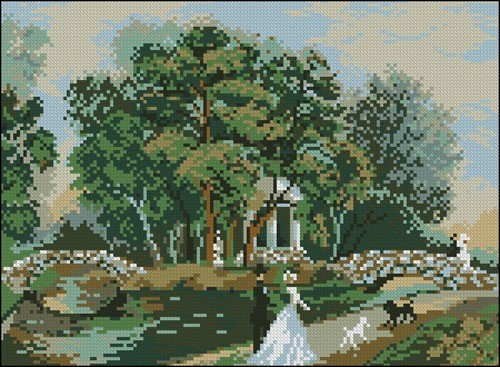Риолис. Прогулка в парке. № 343