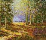 Осенняя парковая аллея