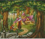Замок в лесу сказочный детский