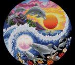 Солнечный и лунный дельфины