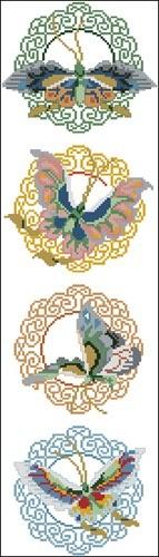 Butterfly Bellpull