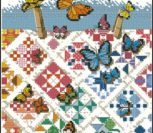 Butterflies on nine-patches