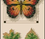 Butterfly and Leaves