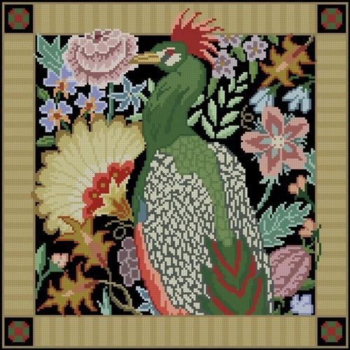 Bird in the garden II