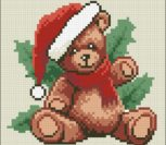 Christmas Ted Pillow