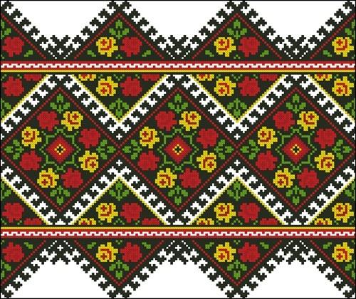 Молдавский народный орнамент