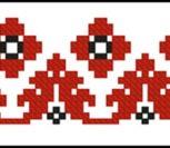 Русско народный орнамент по клеточкам