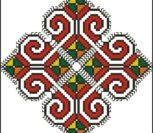 Красивый болгарский орнамент