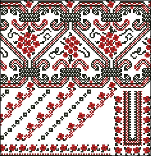 Украинские орнаменты для вышивки