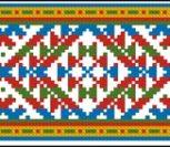 Орнамент эстонский ленточный