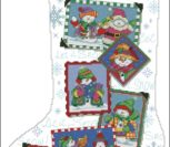 Snowmen snapshots stocking