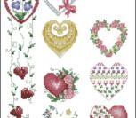 Миниатюры сердечки разные