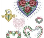 Красивые маленькие сердечки