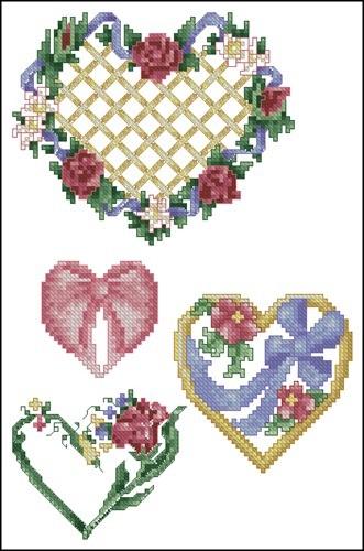 Подборка красивых сердечек