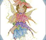 Феечка на цветке 2