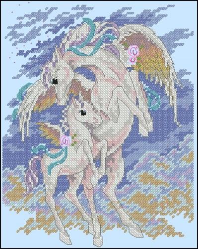 Pegasus & Colt