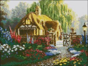 Домик в цвету