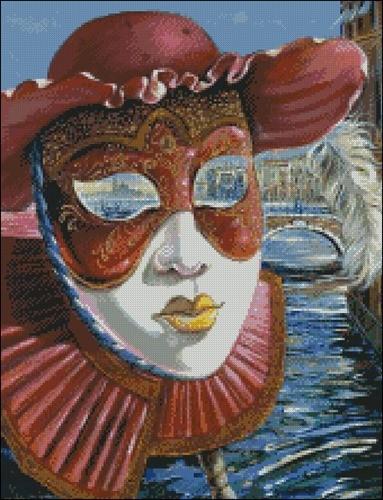 Венецианская маска 5