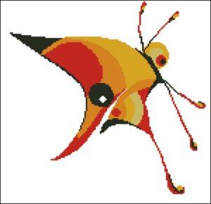 Бабочка-Абстракция 2