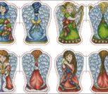 Ангелы - игрушки на елку