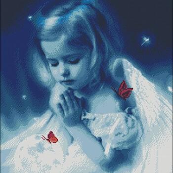 бесплатные схемы вышивки ангелов