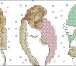 Мать и дитя ангелочек
