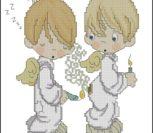 Ангелочки со свечками